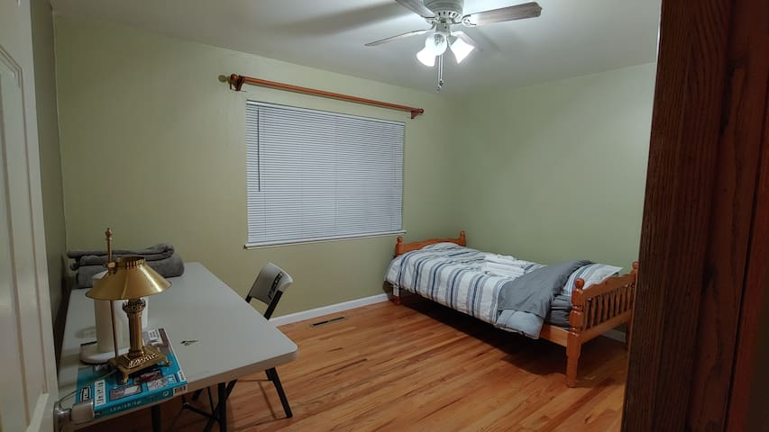 Spacious newly remodeled room
