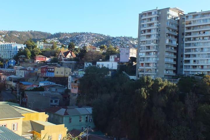 Vista desde el balcón de la habitación