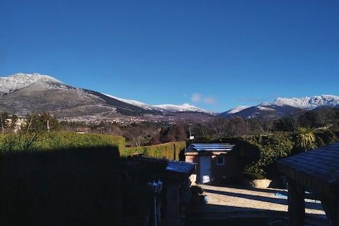 Estudio con encanto en la sierra de Guadarrama