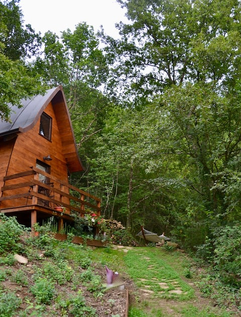 Casetta Adelina Cabin in the Forest
