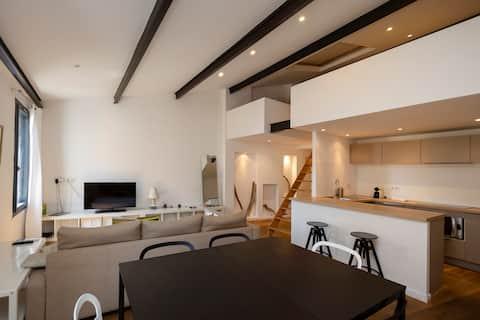 Grand Duplex cosy** Rue Roi de Rome