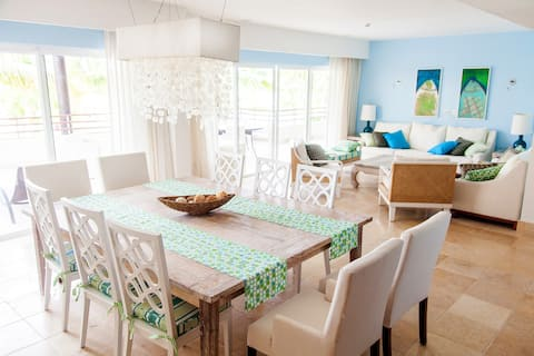 Sea view apartment in Cap Cana/Overall rating 5*