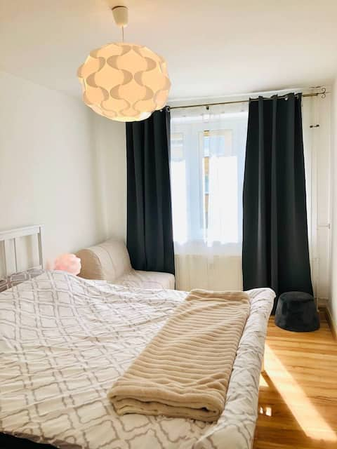 Central,clean,cozy entire apartment for family