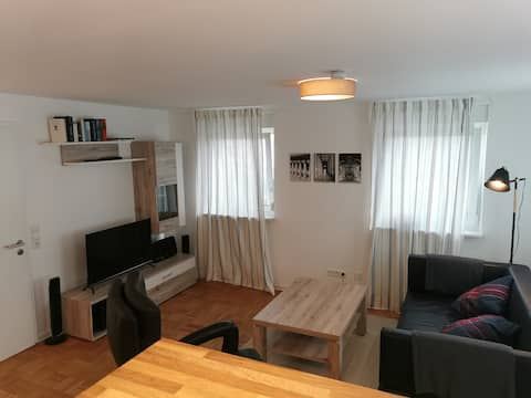 2-izbový byt v centre mesta Laichingen