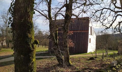 Escapade dans une Cabane de caractère: la Néottie