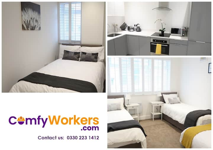 Bedford City Centre ★  Apartment by Comfy Workers
