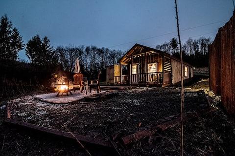 Hertenpad hut - Een kleine off-grid hut