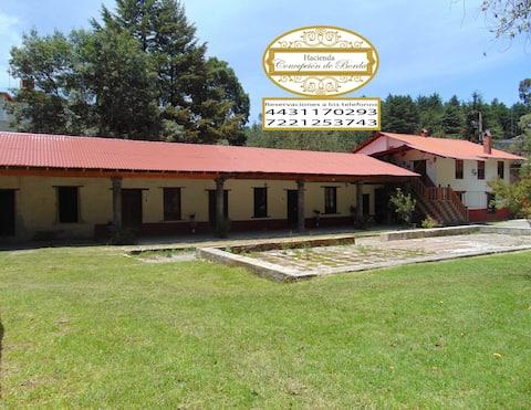 Hacienda Concepción de Borda Hab  1 independiente