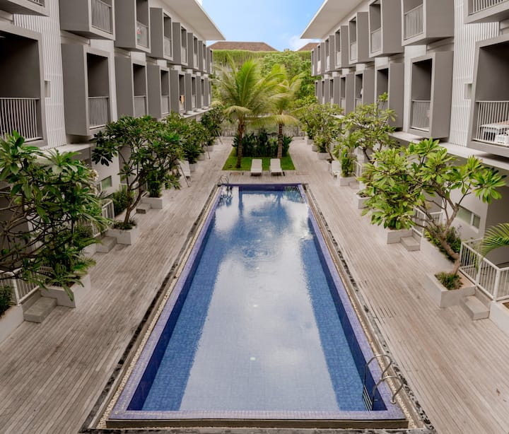 Spacious Studio2, 1 Bedroom Near Seminyak
