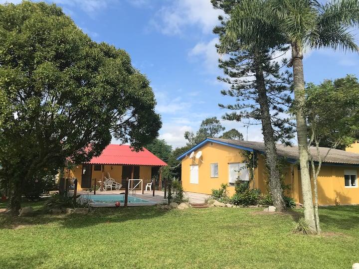 Casa de Campo perto da Praia de Arambaré