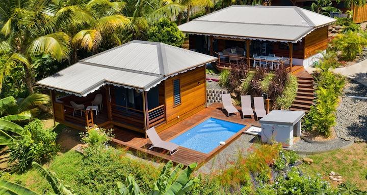TIPAREO : villa Les SAINTES  pour 2 couples