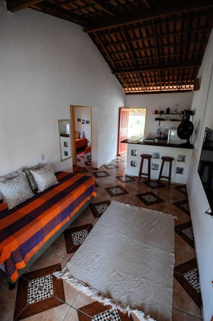 Vila Xandó - Casa Pahu - Beira Mar em Caraíva