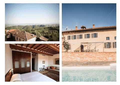 Charming Apartment w/ shared pool in Piemonte