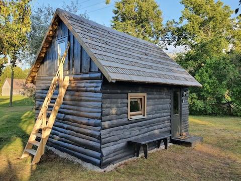 """Vecvalki"" cottage with private patio"