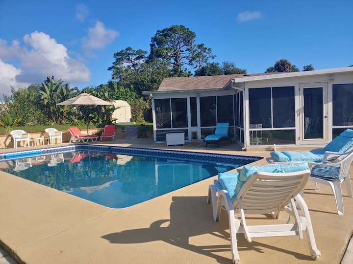 🚀🚀Space Coast Florida SuperHost ~ 3 Bedrooms🚀🚀