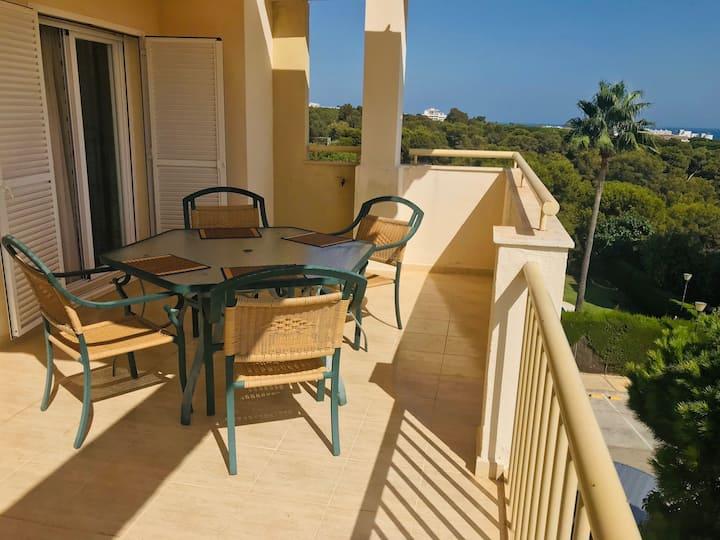 Ático con terraza abierta/Open terrace apartment