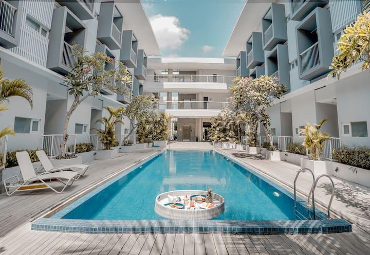 Bali Lovely Studio Apartment With Balcony @Kuta 1