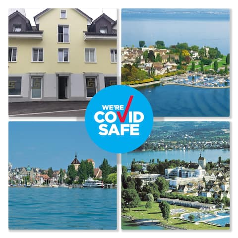 3 Doppelbett Business Apartment am Bodensee