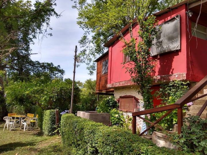 Casa en Isla del tigre Carmencita para 2 personas.