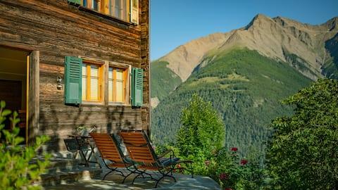 Majestetisk utsikt over fjellet