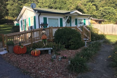The whole cottage is handicap accessible
