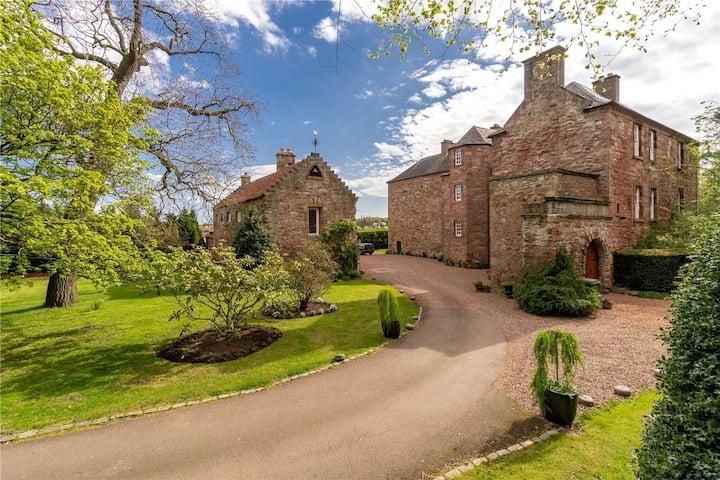 15th Century Castle near Edinburgh