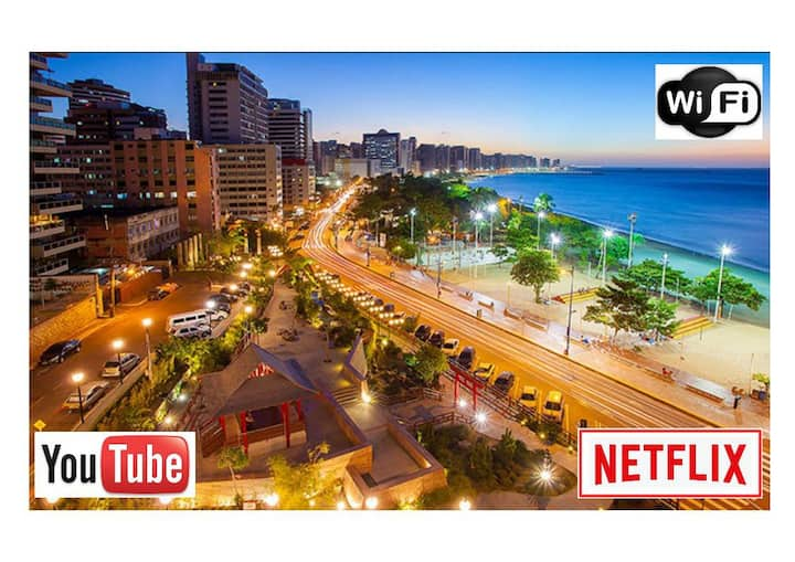 Cozy flat-Sea view-Netflix-