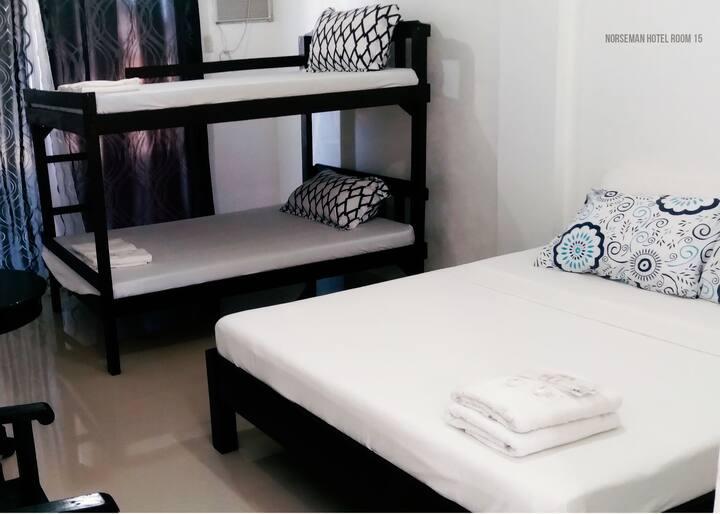HOTEL ROOM 15 (FAMILY ROOM)- NORSEMAN BEACH RESORT