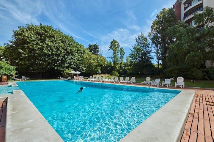 Loft en Palermo c/ gym, piscina, parking y sauna!