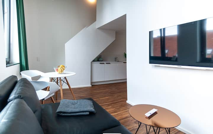 3.2 33m² Studio Apartment in the heart of Neu-Ulm