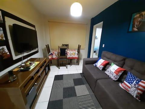 Apartamento lindo comodidade e bem estar aqui tem.