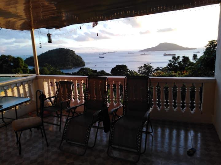 La casa de Wili Taboga de 1 a 6 personas por noche