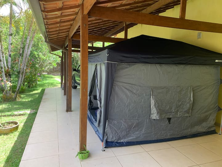 Great Camping Opportunity in Casa paRABEns Garden