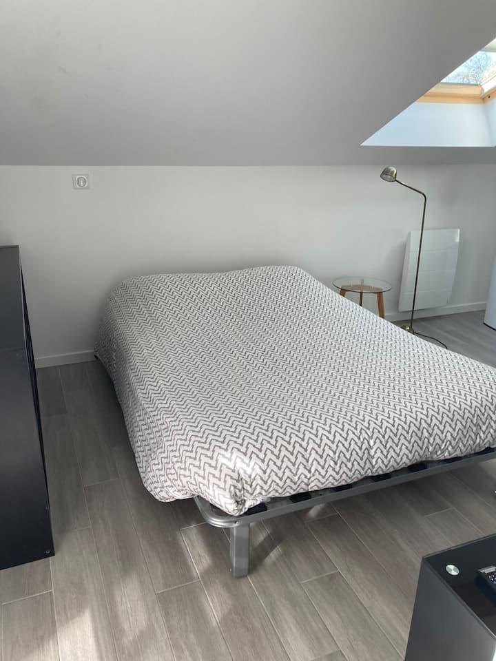 Chambre avec SDB privée dans maison individuelle