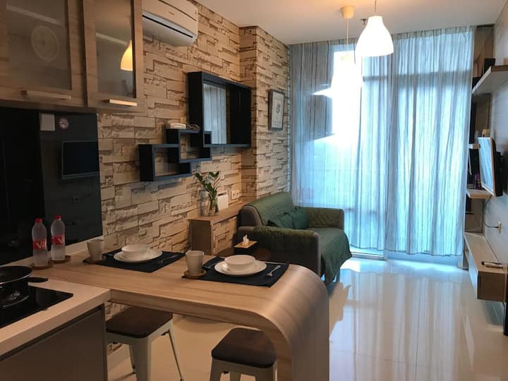 Brooklyn Apartment | Cozy 1 BR | Alam Sutera