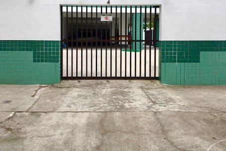 Entrada para a garagem