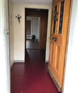 large entry door.