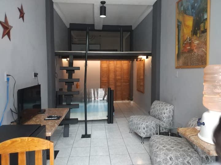 Santa Fe (cerca), Loft completo y moderno CDMX