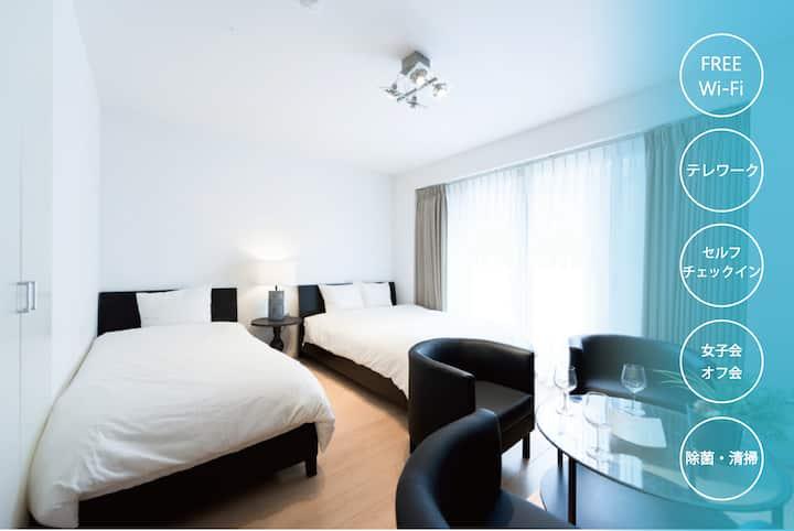 Stylish & Calm room in Shibuya★1K #2A