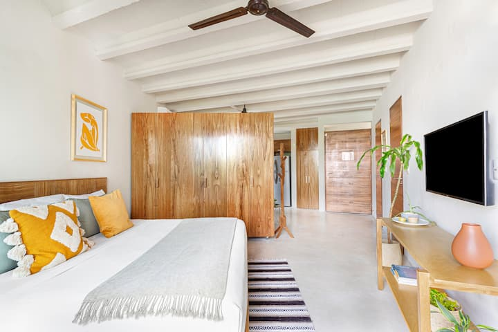 Cozy loft at 10 min away from Isla Mujeres ferry