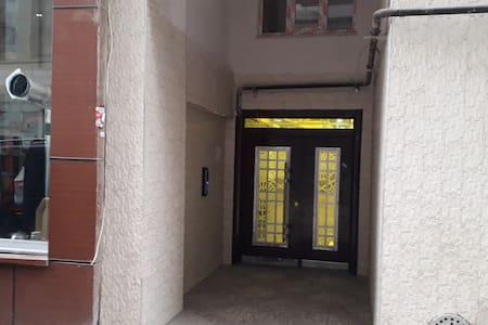 giriş düz zemin olup hol genişliği 2 metreye yakındır