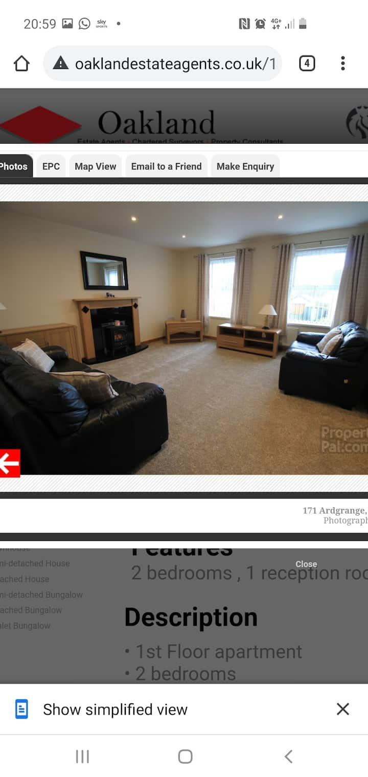 2 bedroom luxury apartment  close to city centre