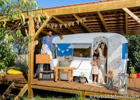 2/6 PERS = LUDOGÎTE COCOONING + CARAVANE FEERIQUE