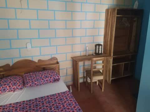 Neuf : chambre + salle d'eau ventilé, calme + clim