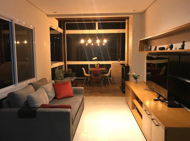 Sunny suite on the Jurerê Leste beach