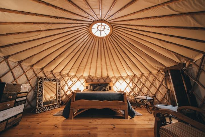Retiro Atlântico - Yurt Eucalipto