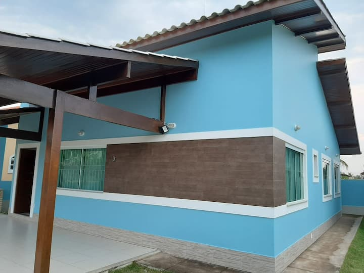 Aconchegante casa em Grussaí- São João da Barra