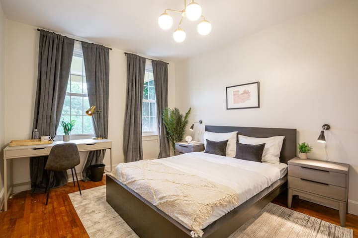 Furnished Queen Room in Columbia Heights