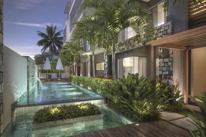 2Bedroom LUXPrivate RoofTop apartment by the beach