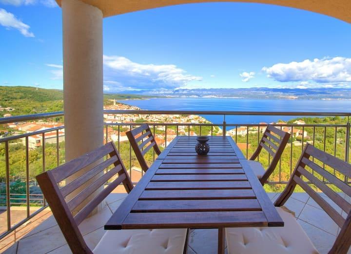 Goga - apartment with breathtaking sea view